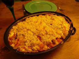 cuisiner potiron le crumble salé orange recette de crumble au potiron