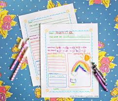 summer letter templates for kids five marigolds