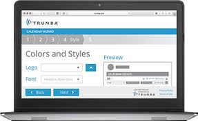 colors home page trumba online website calendar and event registration software