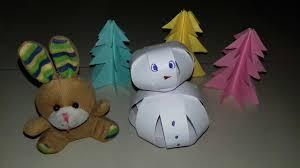 diy paper snowman christmas craft paper ball snowman 34 youtube