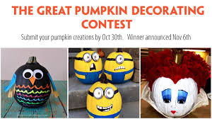 Pumpkin Decorating Contest Open to All at Silko Honda