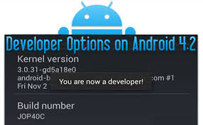 android developer options how to enable developer options usb debugging mode on devices with