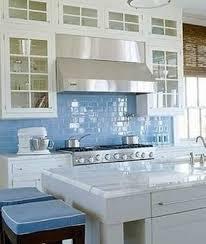 blue glass kitchen backsplash sky blue glass subway tiles the classics bob vila