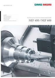 nef 400 nef 600 dmg mori pdf catalogue technical