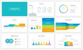 Infographic Presentation Slide Templates And Vector Brochures Stock Slide Templates