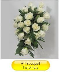how to make a wedding bouquet how to make a cascading bouquet easy wedding flower tutorial