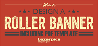 banner design in coreldraw x7 how to design a roller banner pull up banner inc template lazerpics