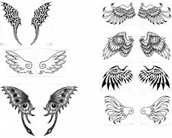 beautiful wings tattoos designs for tattooshunt com