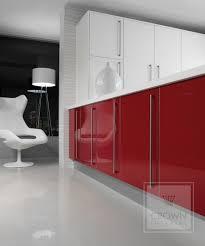 red and white kitchen design u2013 malvern kitchens ltd