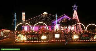dancing christmas lights lights decoration