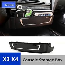 Accessories For Cars Interior Car Center Console Cd Panel Replacement Storage Box For Bmw X3 X4