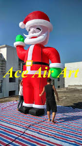 Inflatable Christmas Decorations Outdoor Cheap - online get cheap christmas giant santa claus aliexpress com