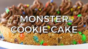 Halloween Cookie Cake Designs by Monster Cookie Cake Life Love And Sugar
