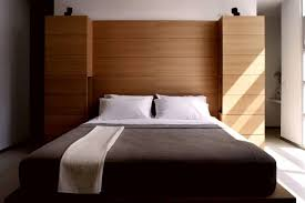 home interior wall interior favorable decoration design bedroom using wood mosaic