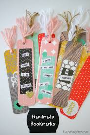 diy handmade bookmarks handmade bookmarks stocking stuffers and
