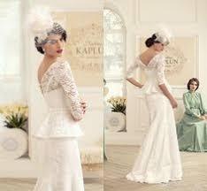 2014 pnina tornai wedding dresses ivory satin beaded beading