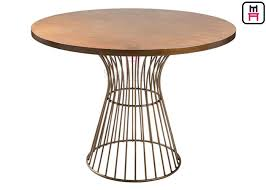 round dining table metal base metal table bases for wood tops round dining table metal base