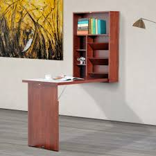 Small Wall Desk Furniture Adjustable Computer Desk Wall Mounted Folding Table