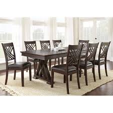 Length Of 8 Person Dining Table by 8 Or More Dining Table Sets Hayneedle