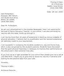 teacher cover letter example best teacher cover letters images on