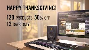musical thanksgiving 50 off selected native instruments products in thanksgiving sale