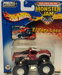 monster trucks toys amazon com 2002 metal collection wheels monster jam el toro