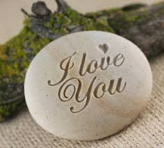 engraved stones i you engraved gift ready to ship sjengraving