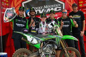 loretta lynn ama motocross article 08 06 2017 kawasaki team green riders prevail at