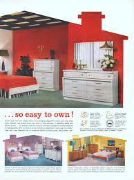 1960 Bedroom Furniture by Bassett Furniture Industries Advertisement Gallery