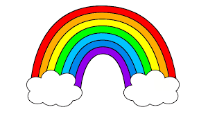 learn rainbow colors seven colours for toddlers and kids youtube
