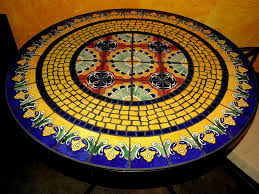 Slate Top Patio Table by How To Tile Outdoor Table Http Wwwfurthurlacom Diningtableshtm