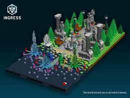 Ingress World Map by Lego Ideas Ingress The Game