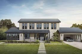 house with solar elon musk is one of the customers of tesla s solar roof