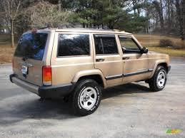 2000 jeep cherokee black 2000 desert sand pearl jeep cherokee sport 4x4 45876913 photo 3