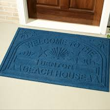Personalized Outdoor Rugs Welcome Oversized Personalized Doormat