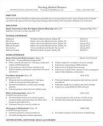 nursing resume objective nursing student resume template nursing school student resume