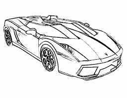 free lamborghini coloring pages coloring home