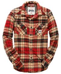 Flannel Shirts Superdry Milled Flannel Shirt S Shirts