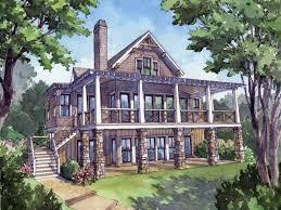 walkout basement house plans southern living u2014 rmrwoods house