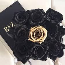 gold roses gold special edition arrangement fleur du luxe