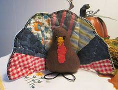 primitive pumpkin pilgrims thanksgiving decoration doll