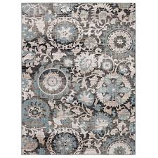 10 x 13 area rugs shop allen roth oyster rectangular indoor nature area rug