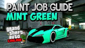 teal green car gta 5 online
