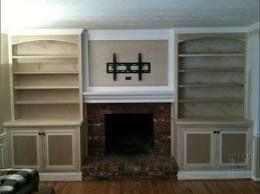 Built In Bookshelves Around Tv by Best 25 Shelves Around Tv Ideas Only On Pinterest Media Wall