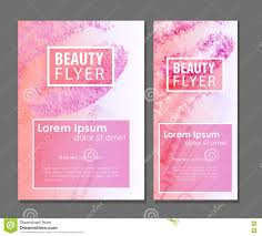 beauty card for makeup artist stock vector image 72926628
