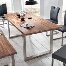 Esszimmer In Eiche Natur Esstisch Maryland Esszimmertisch Tisch In Akazie Massiv