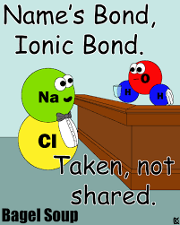 name u0027s bond ionic bond bagel soup pinterest ionic bond