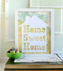 Vintage Home Interior Products by Home Sweet Home Vintage Map Papercut Art Home Decor U0026 Lighting
