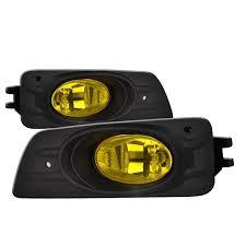 Honda Accord Lights 06 07 Honda Accord 4 Door Oem Style Fog Lights Yellow U2013 Blaze And