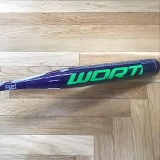 worth bats worth amp alloy fastpitch bat 30 19 fpa511 softball bats